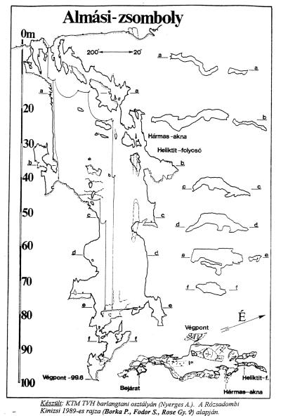 Almási-zsomboly térképek