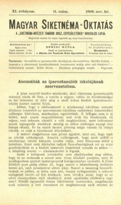 Magyar Siketnéma Oktatás
