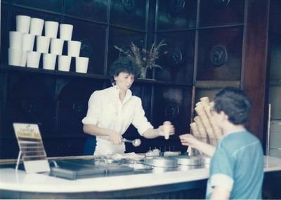 Különlegességi Cukrászda, Budapest, 1985
