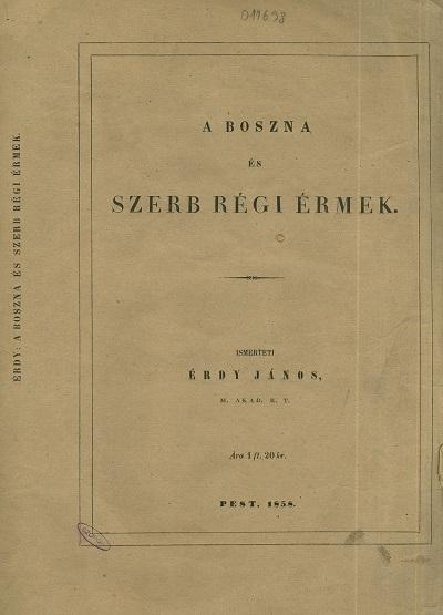 A boszna és és szerb régi érmek