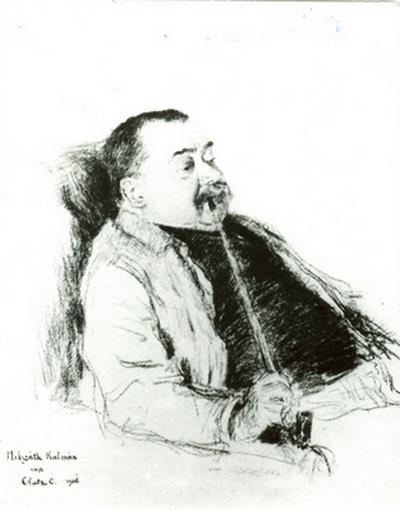 Glatz Oszkár: Mikszáth Kálmán (grafika)