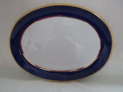 Sültes tál, porcelán