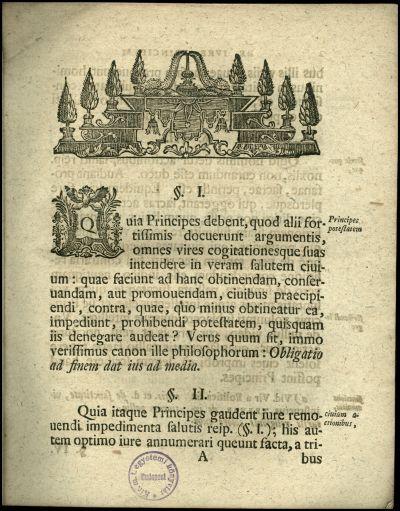 Io. Rudolphus Engau ... de iuribus principum evangelicorum circa oratores sacros