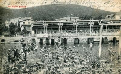 Abbazia. Im Slatina Seebad