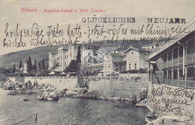 Képeslap-Abbazia
