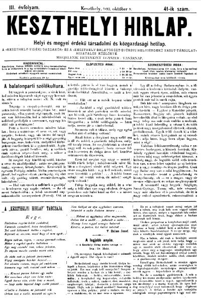 Keszthelyi Hirlap 1893.10.08.