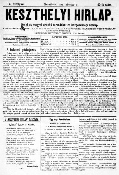 Keszthelyi Hirlap 1894.10.07.
