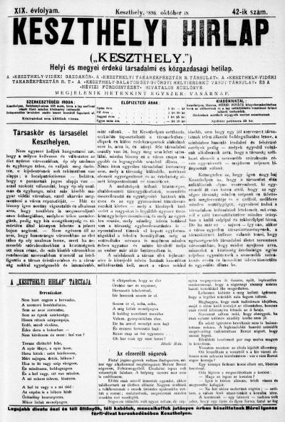 Keszthelyi Hirlap 1896.10.18.