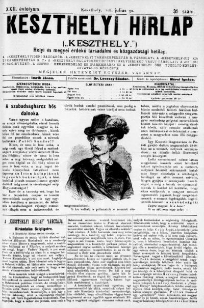 Keszthelyi Hirlap 1899.07.30.