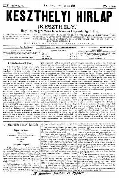 Keszthelyi Hirlap 1902.06.22.