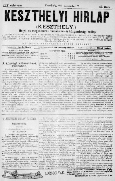Keszthelyi Hirlap 1902.12.07.