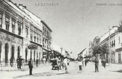 Hungária Szálloda, Keszthely, 1920-as évek