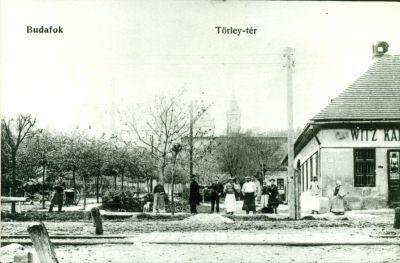 Witz-vendéglő a Törley-téren, Budapest, Budafok, 1907