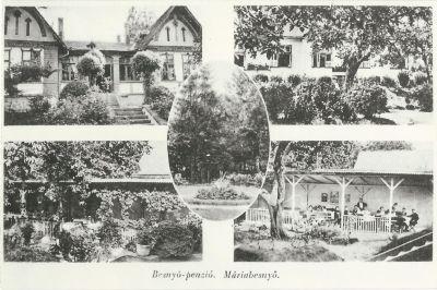 Besnyő Panzió, Máriabesnyő, 1939