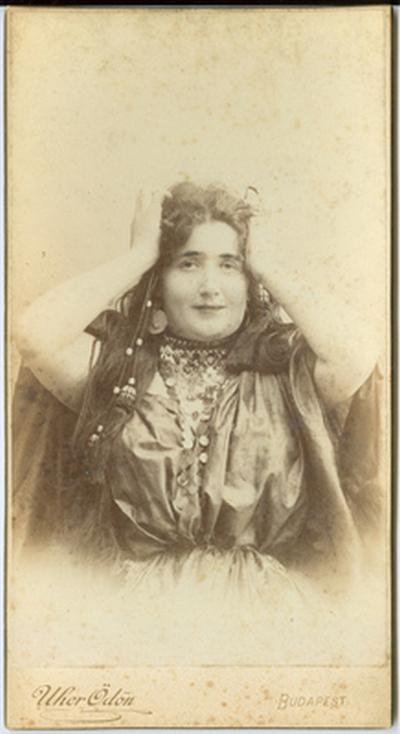 Lukács Júlia Rózsi*-portréja