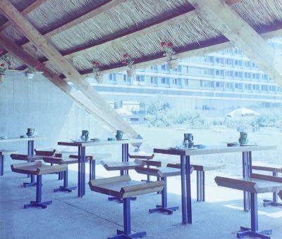 A Hotel Annabella kerti bárja