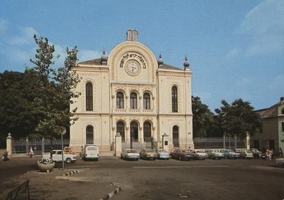 Pécsi zsinagóga 1982-ben