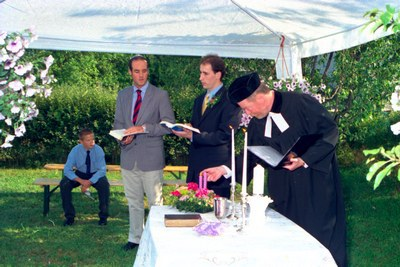 Esküvő a 2000-es évek elején