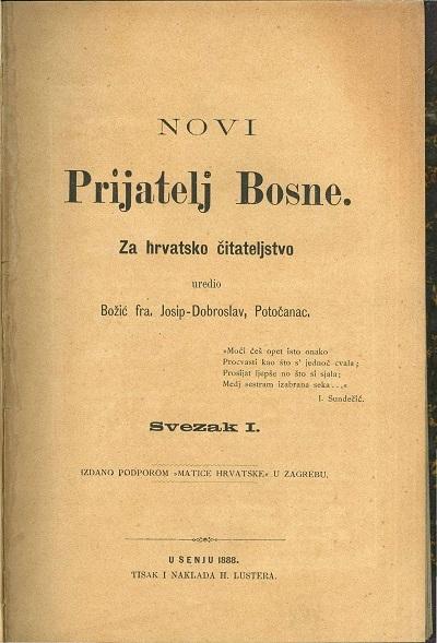 Novi Prijatelj Bosne