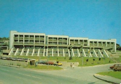 Hotel Hunor 1987-ben