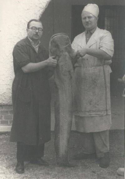 Halászcsárda alkalmazottai, Dunaújváros  1959
