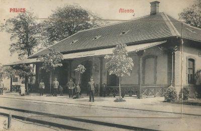Erzsébet Szálloda - leporelló, Palics, 1909