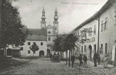 Podolin Szálloda, Podolin, 1915