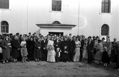 Esküvői csoporkép