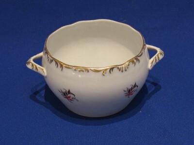 Mártásos tálka, porcelán