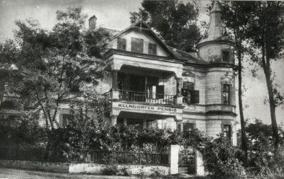 Kelndorfer Panzió, Siófok, 1920-as évek