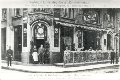 Verbőczi Lajos Vendéglő a Komlótőkéhez