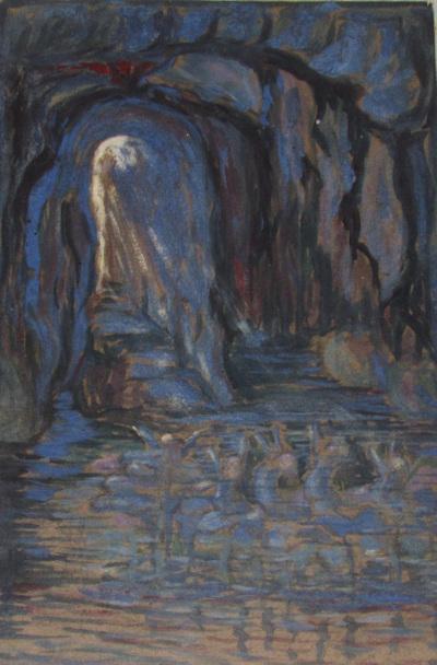 Látomásszerű tündérek a Kapri kék szigeti barlangban