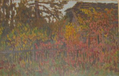 Gellérthegyi villa ősszel