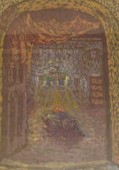 Sass Brunner Erzsébet festmény