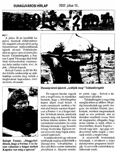 Kapolcs 2002