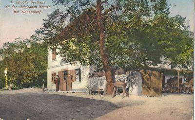 S. Strobl's Gasthause , Sinnersdorf - képes levelezőlap