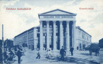 Pest Szálloda - képeslap, Szabadka, 1900-as évek