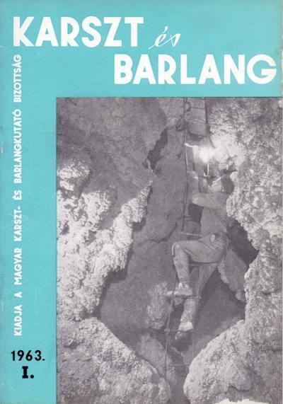 Karszt és barlang 1963. I.