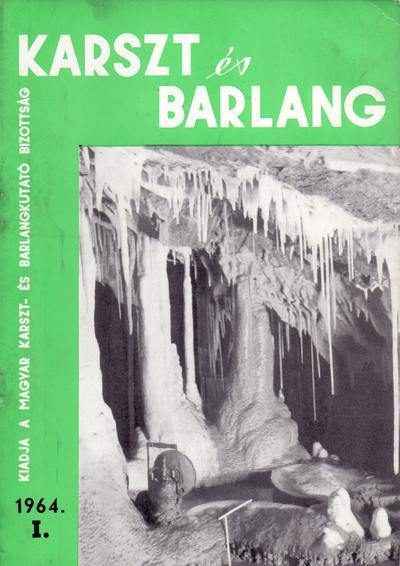Karszt és barlang 1964. I.