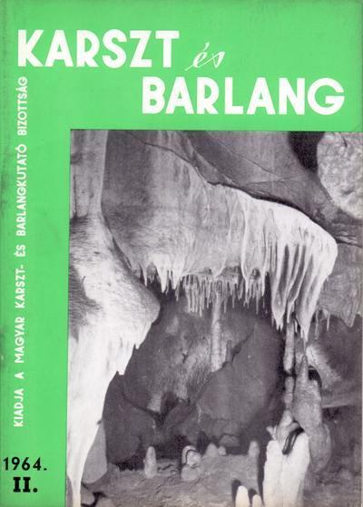 Karszt és barlang 1964. II.