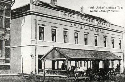 Anker Szálloda, Titel, 1913