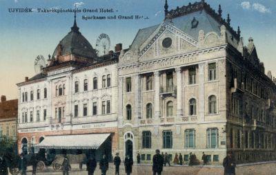 Mayer Nagyszálló - képeslap, Újvidék, 1915