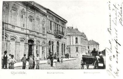 Fábry Szálloda, Újvidék, 1902