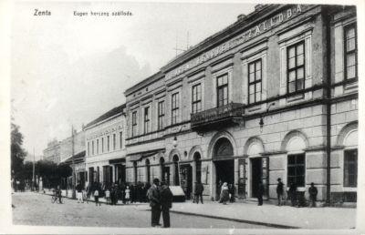 Eugen Szálloda, Zenta, 1910-es évek