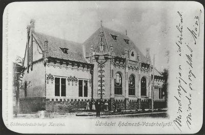 Hódmezővásárhelyi Kaszinó, Hódmezővásárhely, 1900-as évek