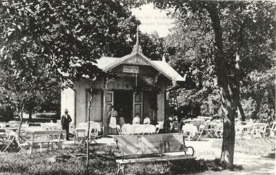 Sétatéri Kioszk és Cukrászda, Újvidék, 1907