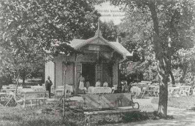 Séta téri Kioszk, Újvidék, 1907