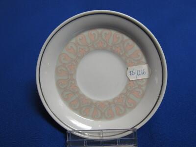 197. Mokka alj, porcelán