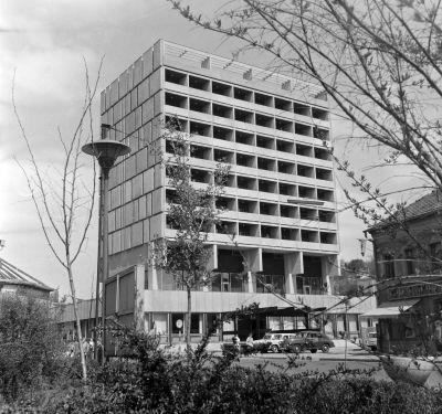A Karancs szálló épülete