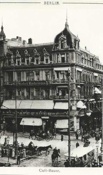 Café Bauer, Berlin 1823